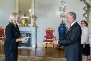 Ambassador Extraordinary and Plenipotentiary of the Republic of Estonia to the Republic of Portugal Ruth Lausma Luik