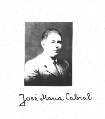 José Maria Cabral. Photo: Estonian National Archive