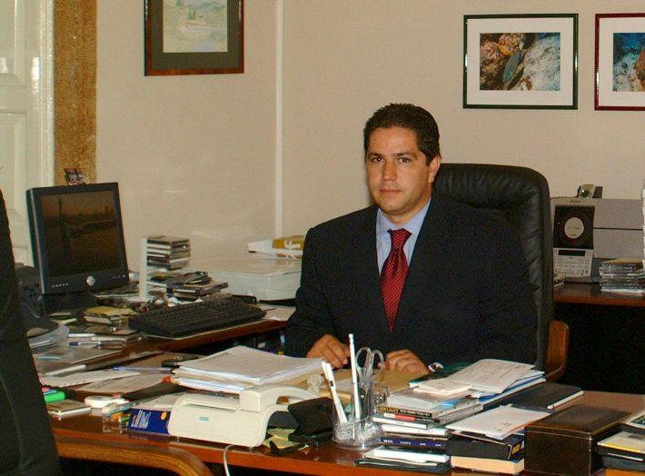 Eesti aukonsul Portos Mário Nuno dos Santos Ferreira. Foto: saatkonna arhiiv