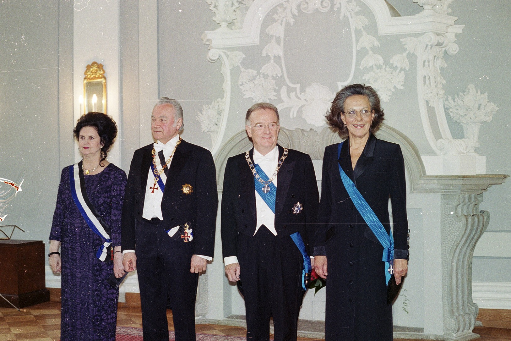Presidents and First Ladies. Photo: Archive of the Office of the President of Portugal