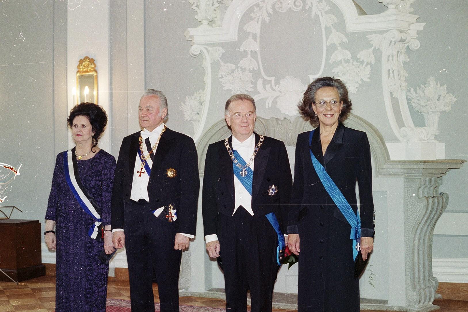 Presidendid ja esileedid. Foto: Portugali Presidendi Kantselei arhiiv