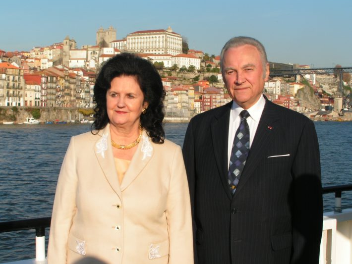 President Rüütel on a state visit in Portugal. Photo: Archives of the Embassy