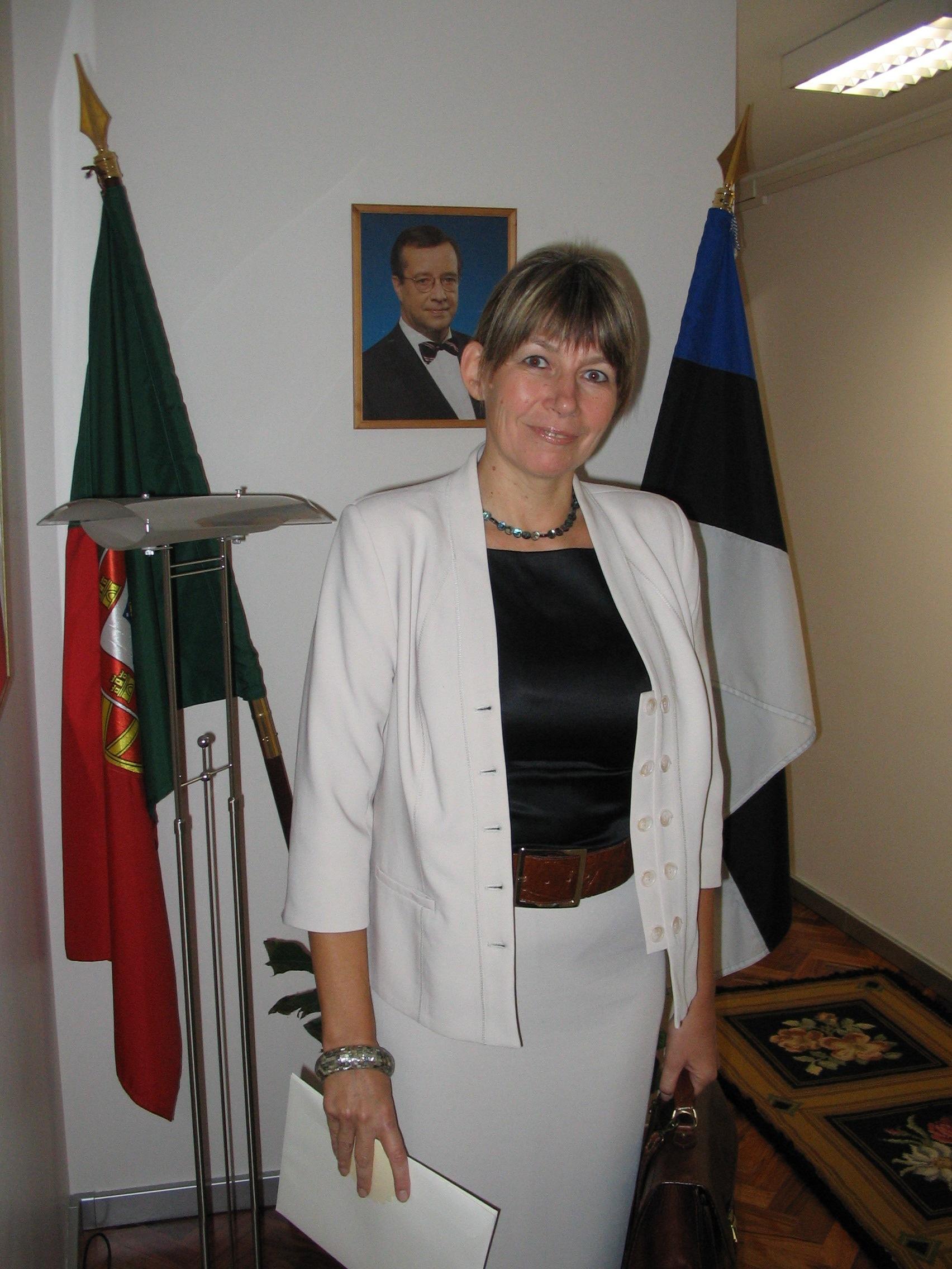 Suursaadik Marin Mõttus. Foto: saatkonna arhiiv
