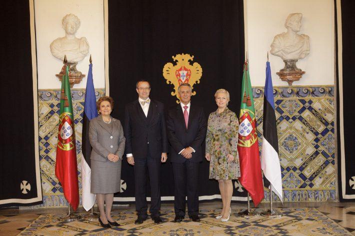 President Toomas Hendrik Ilves Portugalis Euroopa Liidu e-tervisegrupi kohtumisel. Foto: saatkonna arhiiv
