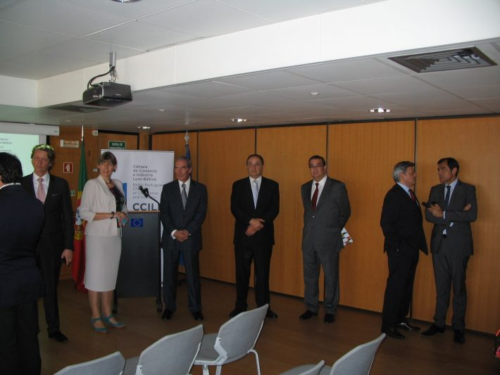 Opening of the Luso-Baltic Chamber of Commerce. Photo: Archives of the Embassy