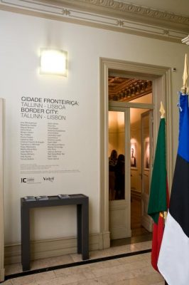 """Opening of the exhibition """"Border City"""". Photo: Archives of the Embassy"""