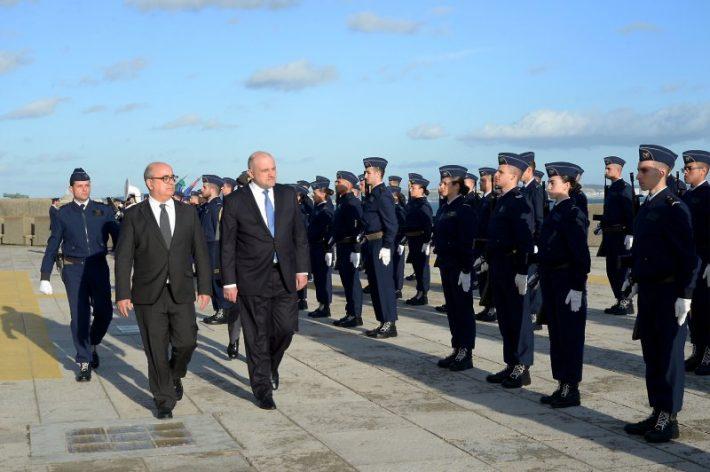 Estonian Minister of Defence, Jüri Luik in Lisbon. Photo: Ministry of Defence of Estonia