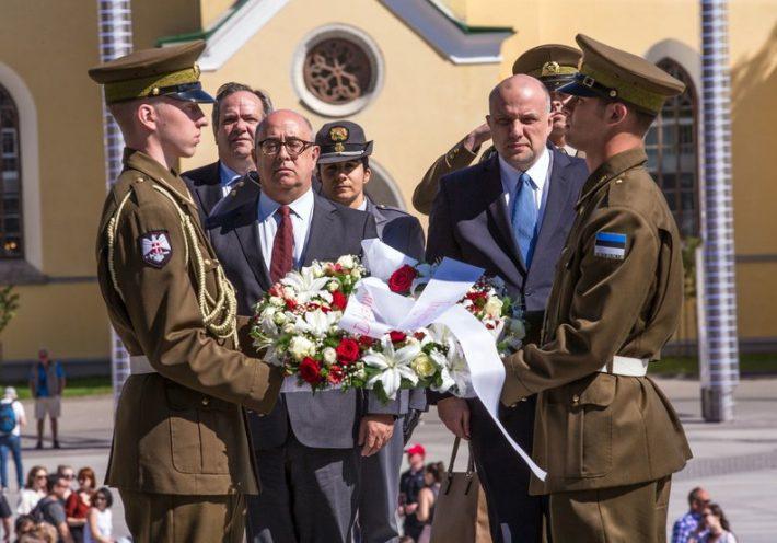 Portugali kaitseministri José Alberto Azeredo Lopesi visiit Eestisse. Allikas: Eesti kaitseministeerium