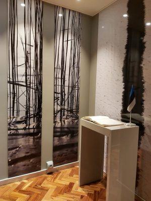 Lissaboni saatkond peale remonti. Foto: saatkonna arhiiv