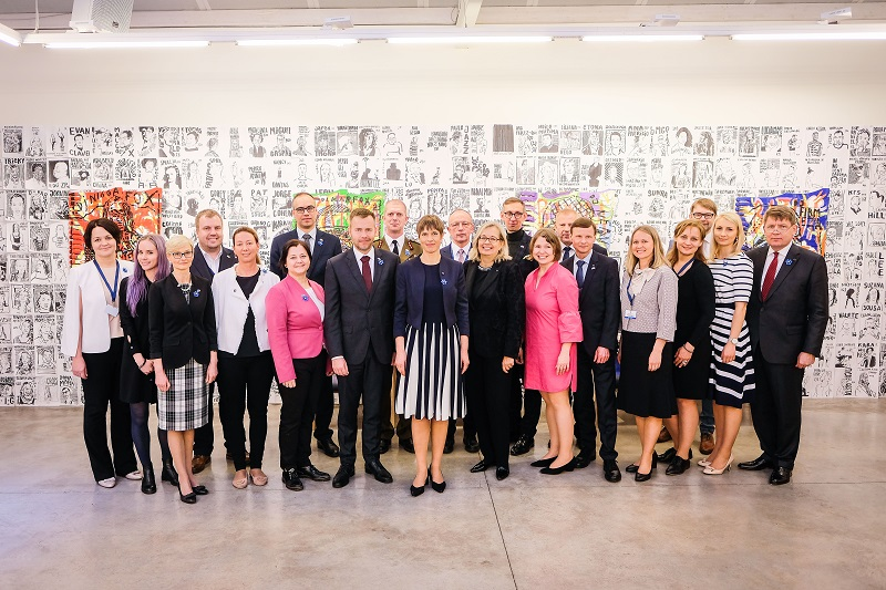Delegatsioon. Foto: saatkonna arhiiv