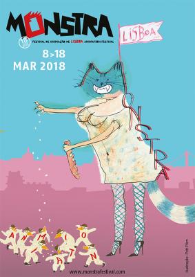 Priit Pärna kujundatud MONSTRA 2018 plakat. Foto: MONSTRA Festival