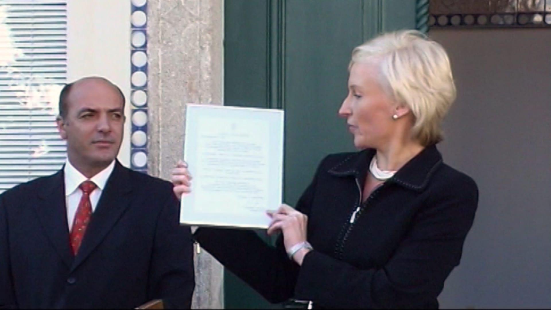 Inauguration of Estonian Honorary Consulate in Tavira. Photo: Archives of Estonian Honorary Consulate in Tavira